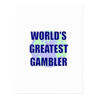 World s Greatest Gambler Post Cards
