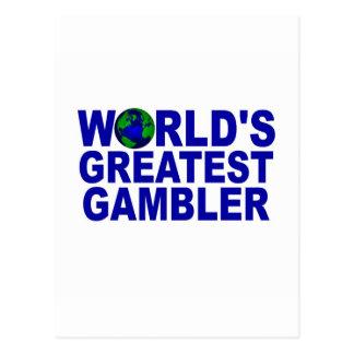 World s Greatest Gambler Postcards