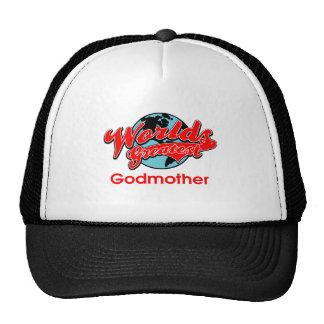 World s Greatest Godmother Trucker Hats