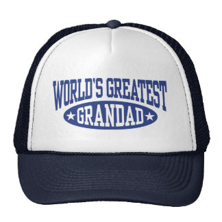 World's Greatest Grandad Cap
