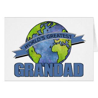World s Greatest Grandad Greeting Cards