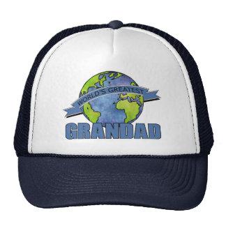 World s Greatest Grandad Trucker Hat