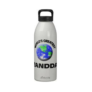 World s Greatest Granddad Reusable Water Bottle