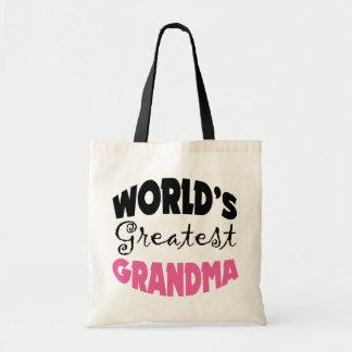 World s Greatest Grandma Tote Bags