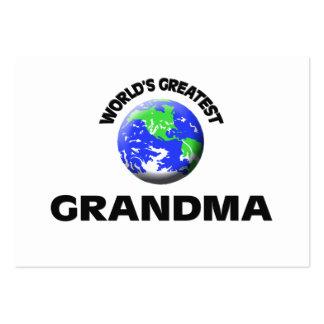 World s Greatest Grandma Business Card