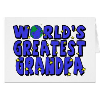 World s Greatest Grandpa Cards