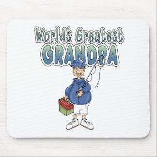 World s Greatest Grandpa Mouse Mats