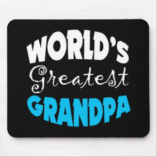World s Greatest Grandpa Mouse Pad
