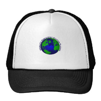 World s Greatest Guitar Player Mesh Hats