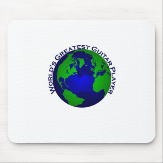 World s Greatest Guitar Player Mousepad