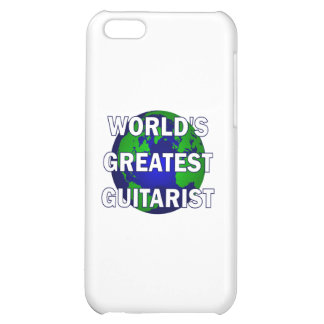World s Greatest Guitarist iPhone 5C Cover