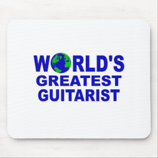 World s greatest Guitarist Mouse Pads
