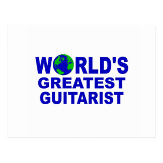 World s greatest Guitarist Postcards