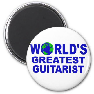 World s greatest Guitarist Refrigerator Magnets