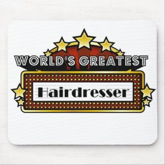 World s Greatest Hairdresser Mousepads
