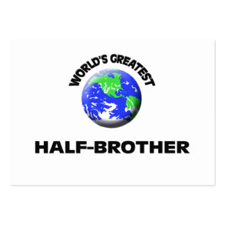 World s Greatest Half-Brother Business Cards