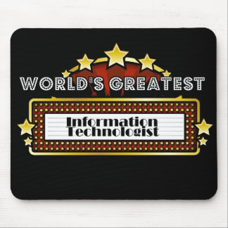 World s Greatest Information Technologist Mousepad
