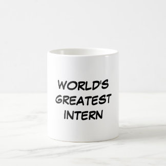 World s Greatest Intern Mug