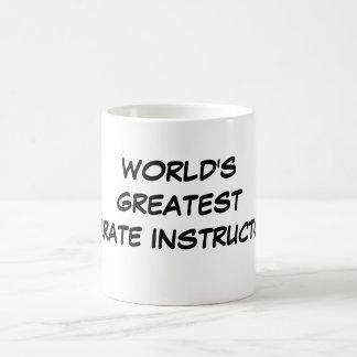 World s Greatest Karate Instructor Mug