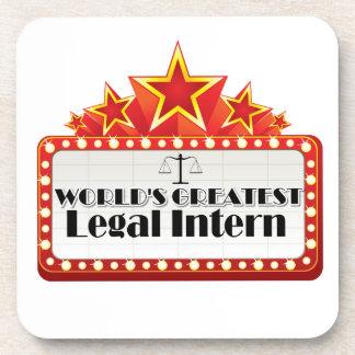 World s Greatest Legal Intern Coasters