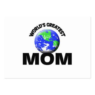 World s Greatest Mom Business Card