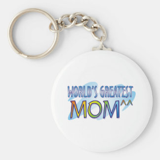World s Greatest Mom T Shirts Key Chains