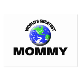 World s Greatest Mommy Business Card Templates