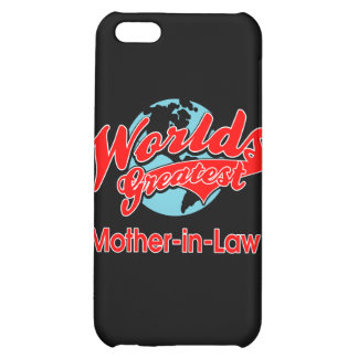 World s Greatest Mother-in-Law iPhone 5C Cases