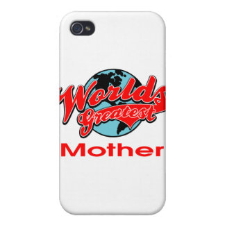 World s Greatest Mother iPhone 4/4S Cases