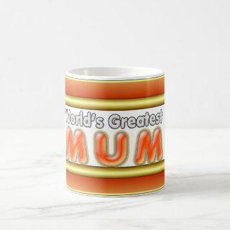 World s Greatest Mum Coffee Mug