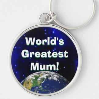 World s Greatest Mum Keychain