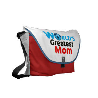 World s Greatest Mum Messenger Bag
