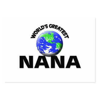 World s Greatest Nana Business Card Templates