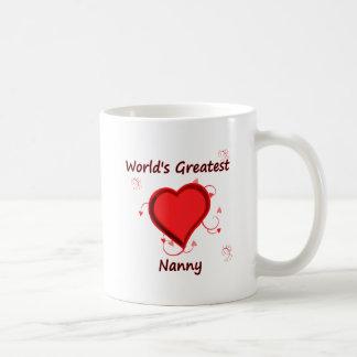 World s Greatest nanny Mugs