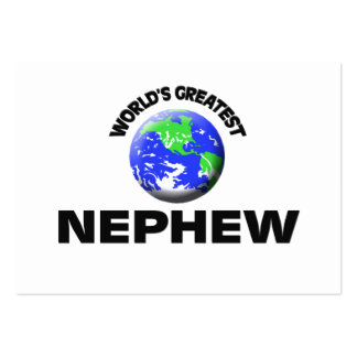 World s Greatest Nephew Business Card
