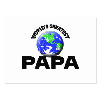 World s Greatest Papa Business Cards