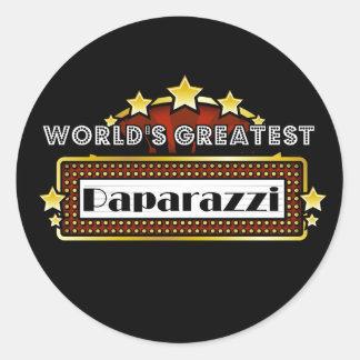 World s Greatest Paparazzi Stickers