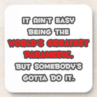 World s Greatest Paramedic Joke Coaster