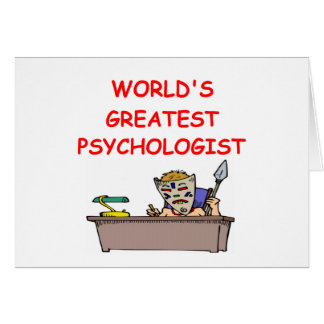 world s greatest psychiatrist greeting card