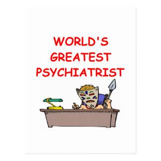 world s greatest psychiatrist post card