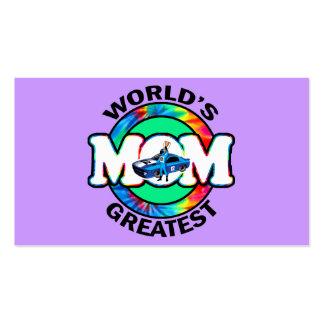 World s Greatest Racing Mom Business Card