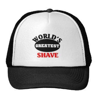 World s Greatest Shave Trucker Hat