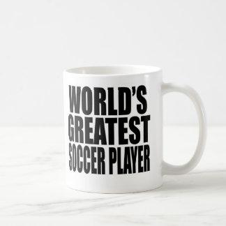 World s Greatest Soccer Player Mugs