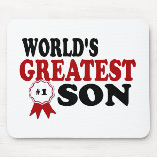 World s Greatest Son Mousepad