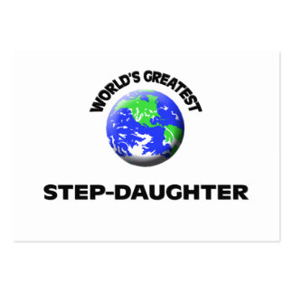 World s Greatest Step-Daughter Business Card