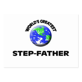 World s Greatest Step-Father Business Cards