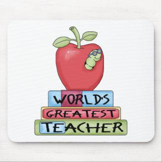 World s Greatest Teacher Mousepad