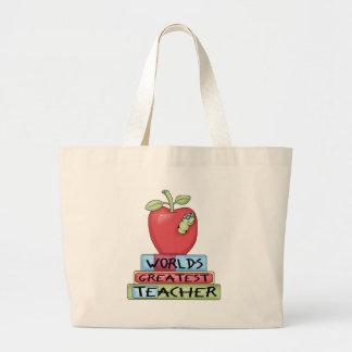 World s Greatest Teacher Tote Bag