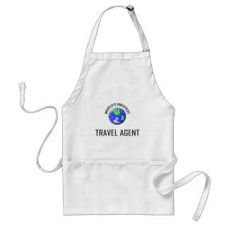 World s Greatest Travel Agent Apron