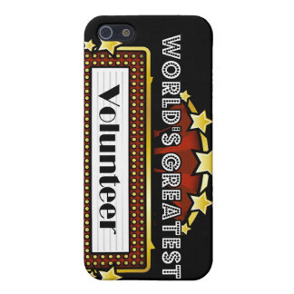 World s Greatest Volunteer iPhone 5 Cover